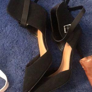 Black-9 maroon/snake-8 olive-9 Black leather-8.5